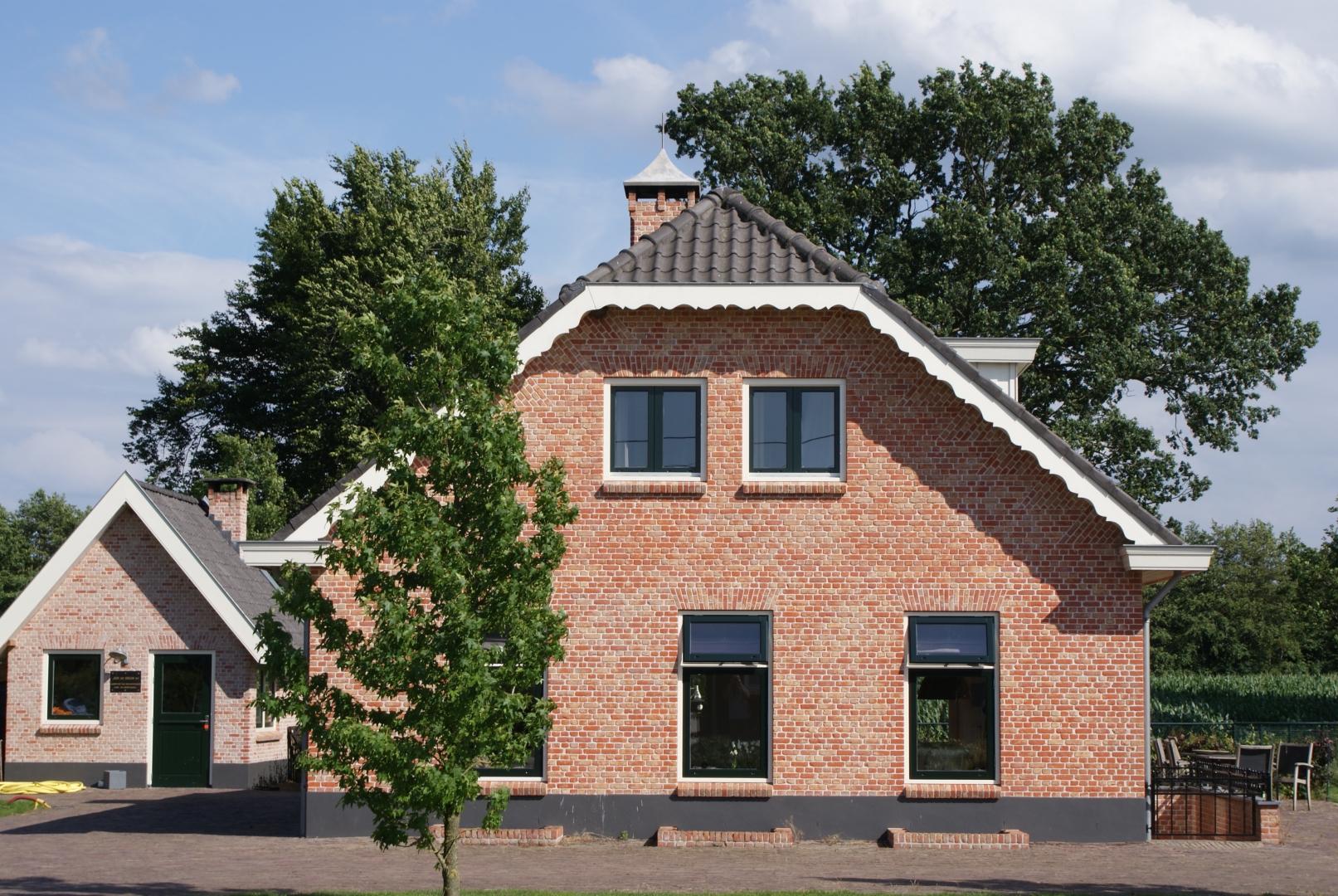 Bouw van een sfeervolle boerderijwoning aan de Volenbekerweg in Ermelo