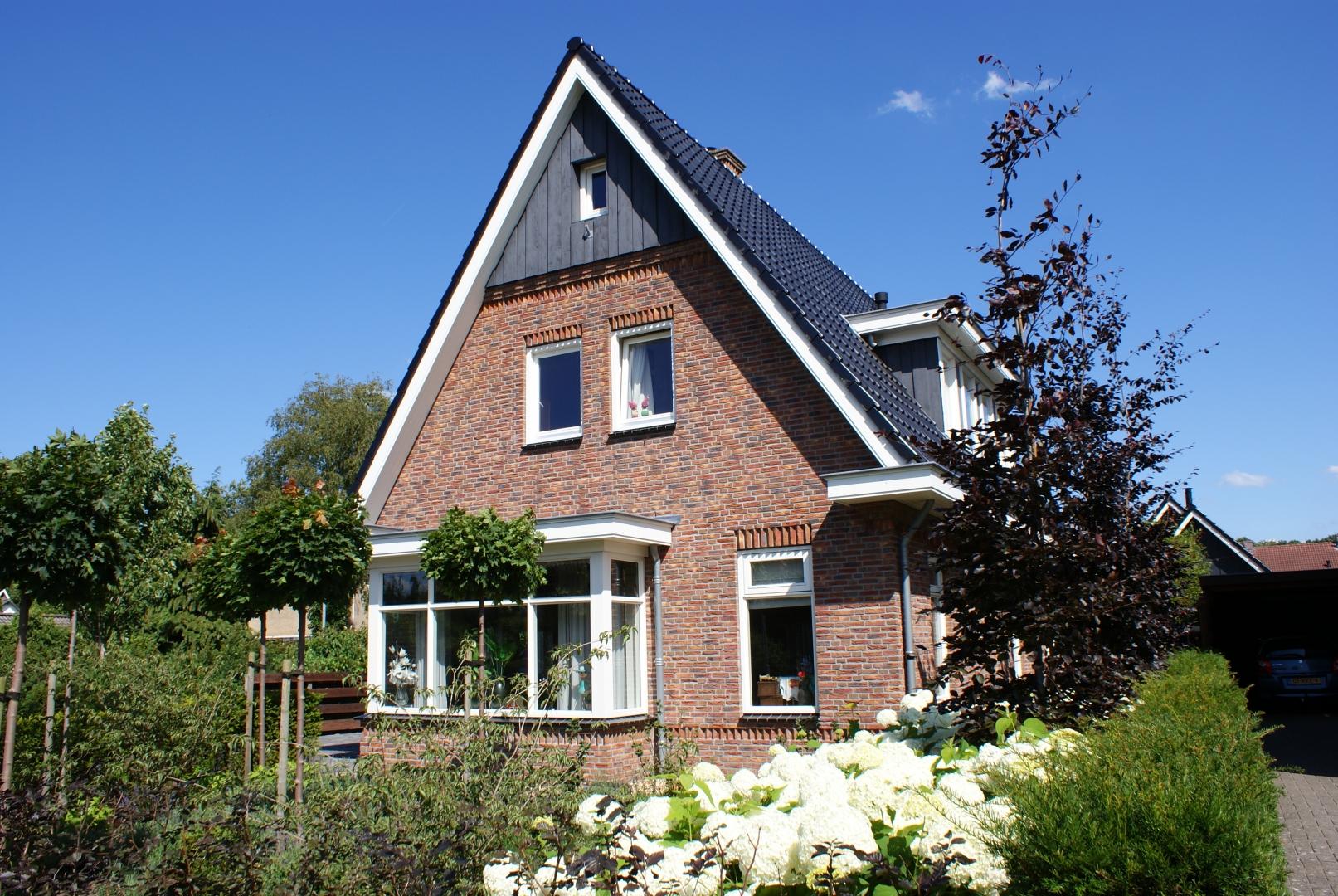 Bouw van prachtig vrijstaand woonhuis aan de Tijmlaan in Ermelo