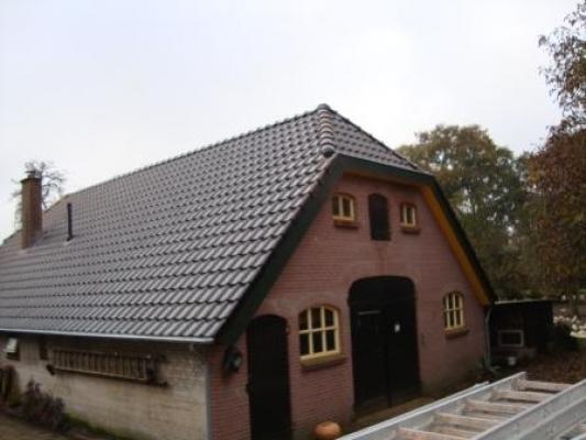 Dakrenovatie van woonboerderij in Ermelo