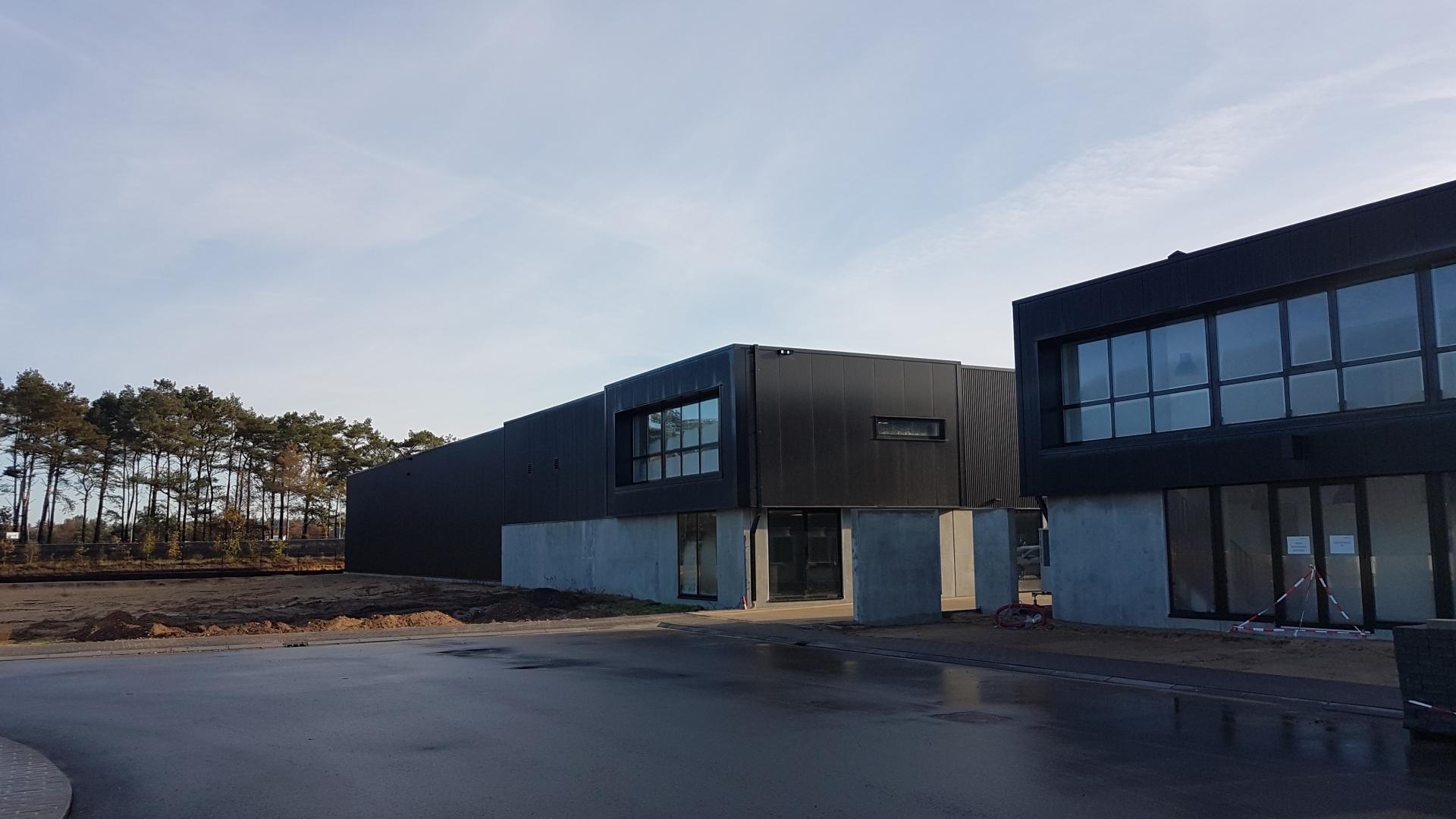 nieuwbouw bedrijfspand de Ridder Soesterberg