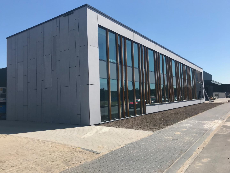 Nieuwbouw bedrijfspand Weston/Easydek