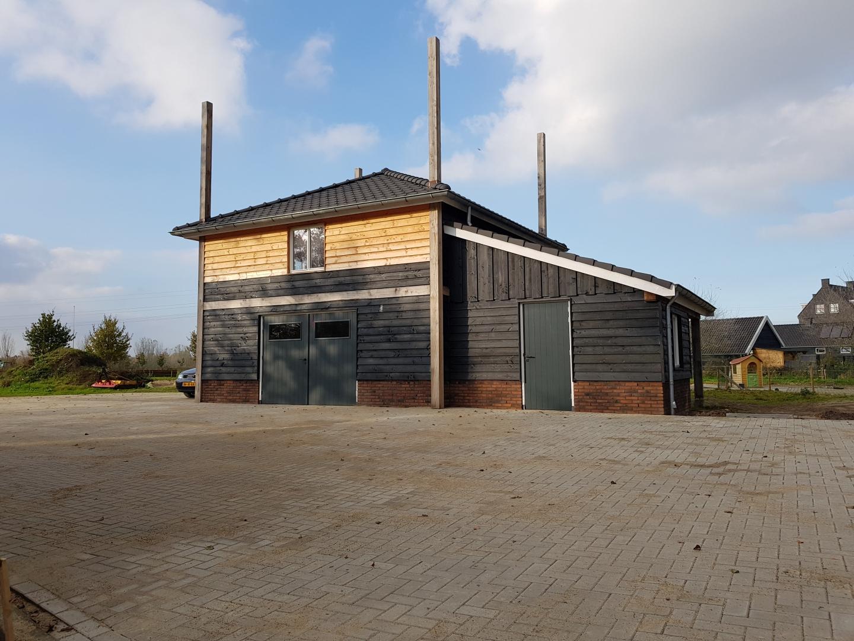 Nieuwbouw hooiberg Horster-Engweg