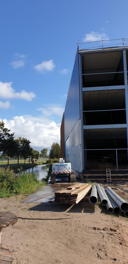 nieuwbouw tuincentrum Oegstgeest