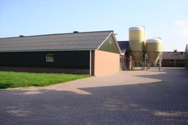 Nieuwbouw twee varkenschuren in Ermelo