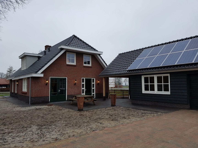 nieuwbouw vrijstaand woonhuis aan de Harderwijkerweg te Ermelo