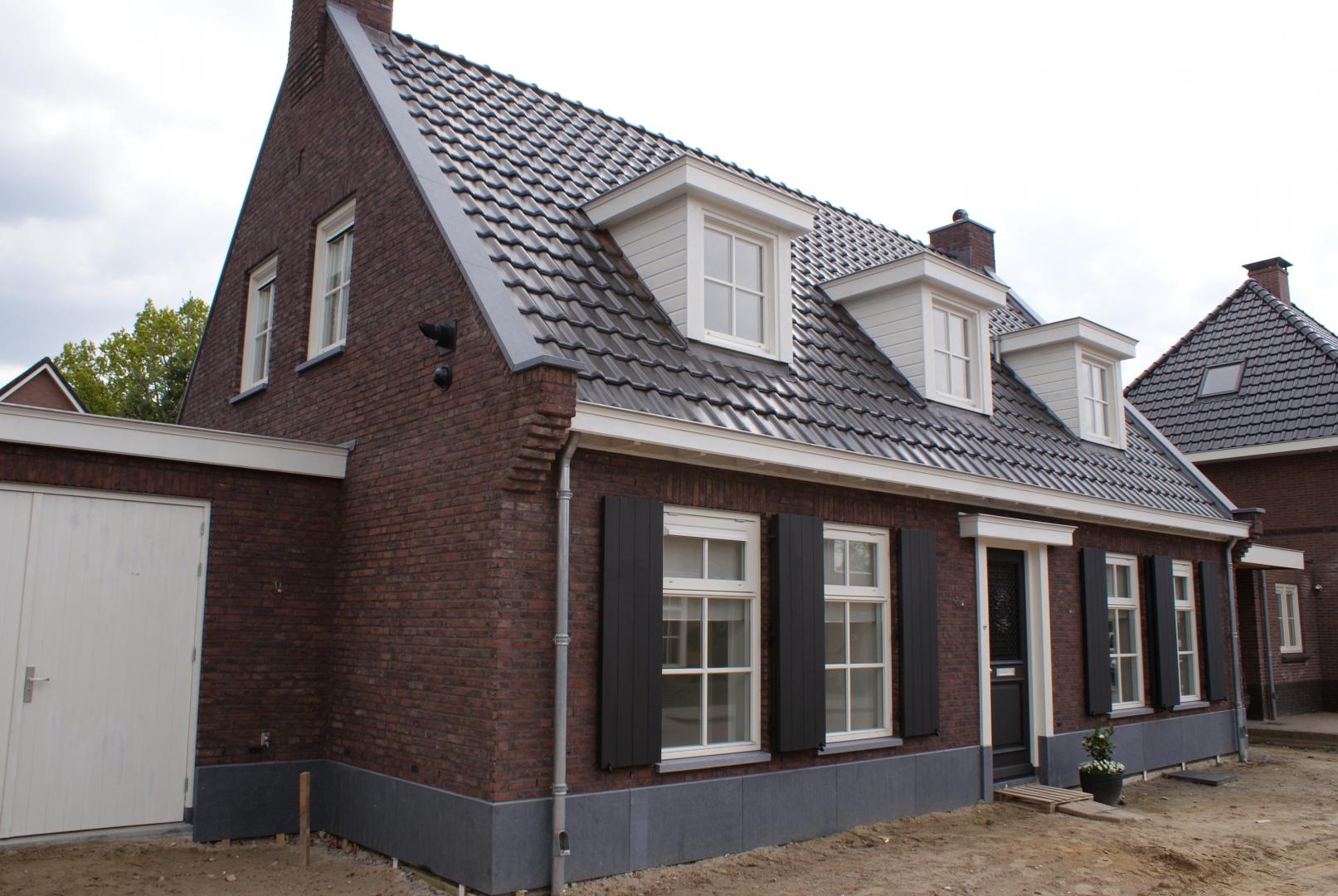 Nieuwbouw vrijstaand herenhuis aan de Akkermaalshout in Ermelo