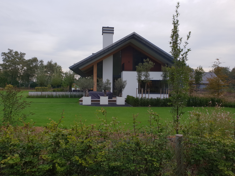 Nieuwbouw woning aan de Konijnenwal in Ermelo