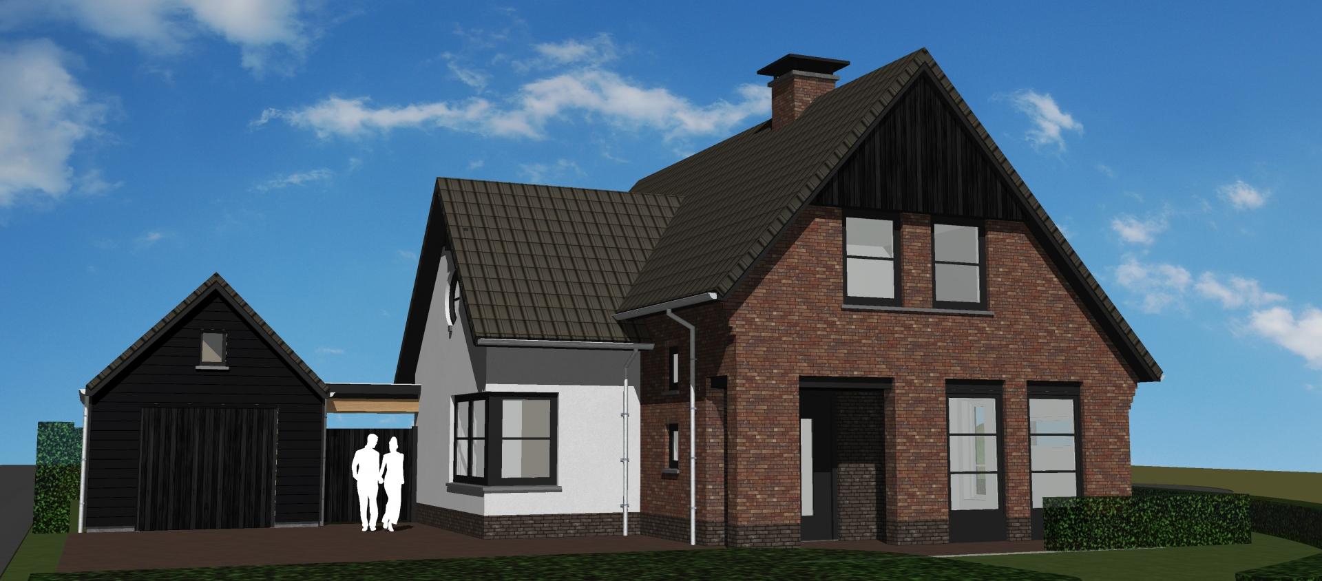 Nieuwbouw woning Hof van Gelre