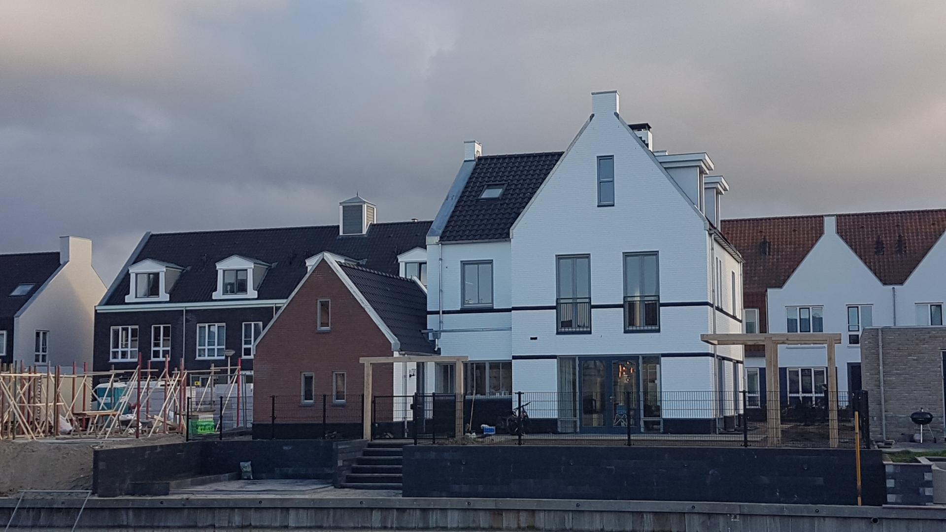 nieuwbouw woning Zuidereiland Waterfront Harderwijk