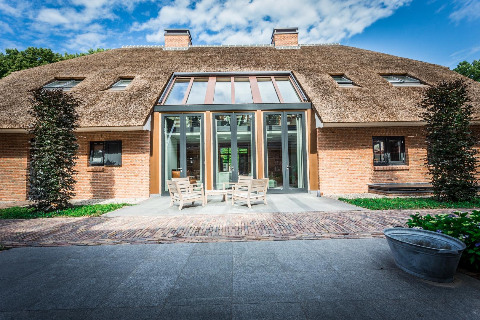 Nieuwbouw woonboerderij  te Ermelo.