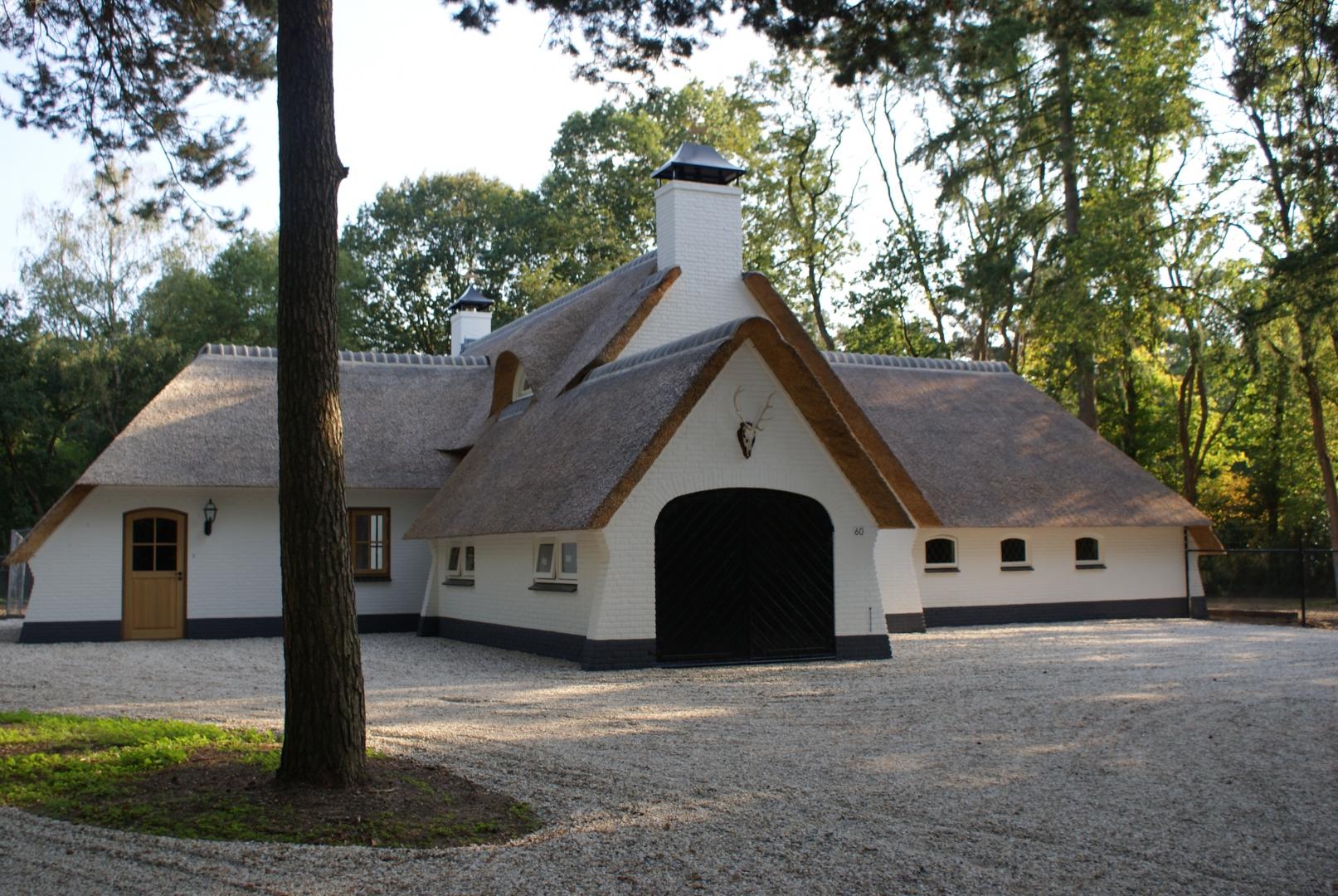 Renovatie landhuis aan de Ericalaan 60 in Ermelo