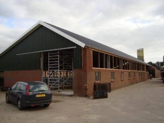 Verbouwing/renovatie van koeienstal in Ermelo